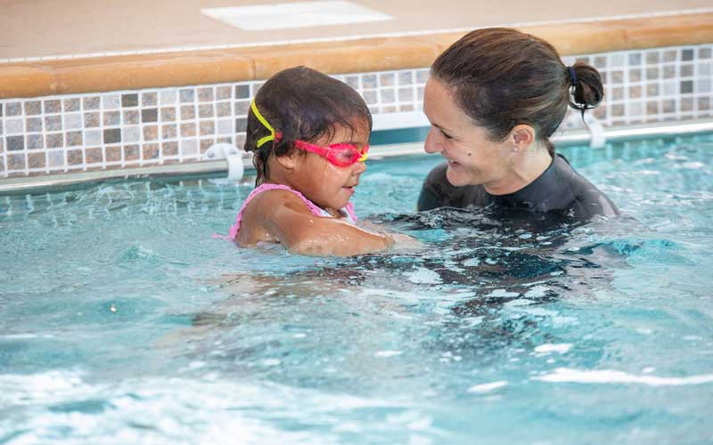 Swimming lessons in Wiltshire