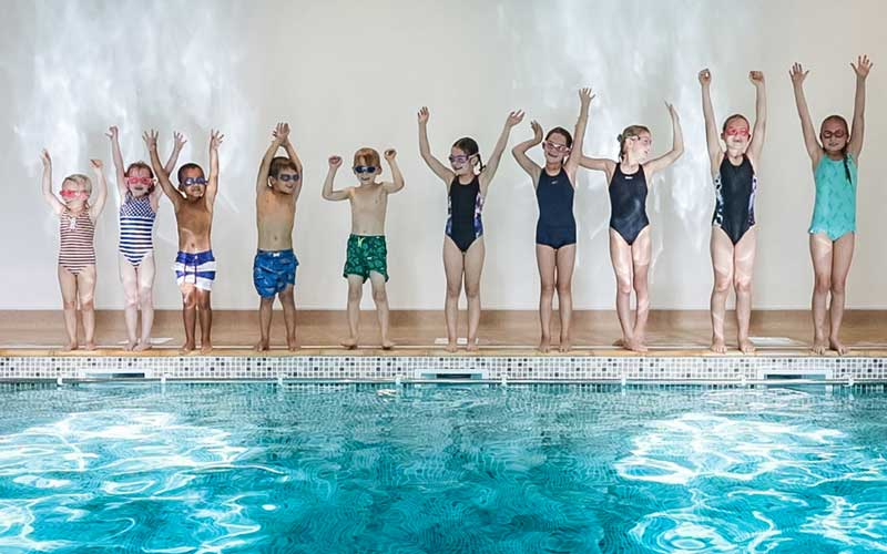 School holiday swimming classes